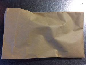 厚手の封筒