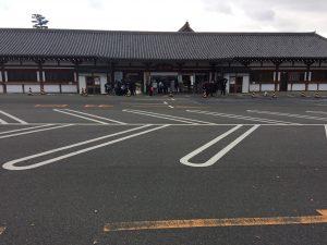三十三間堂 駐車場